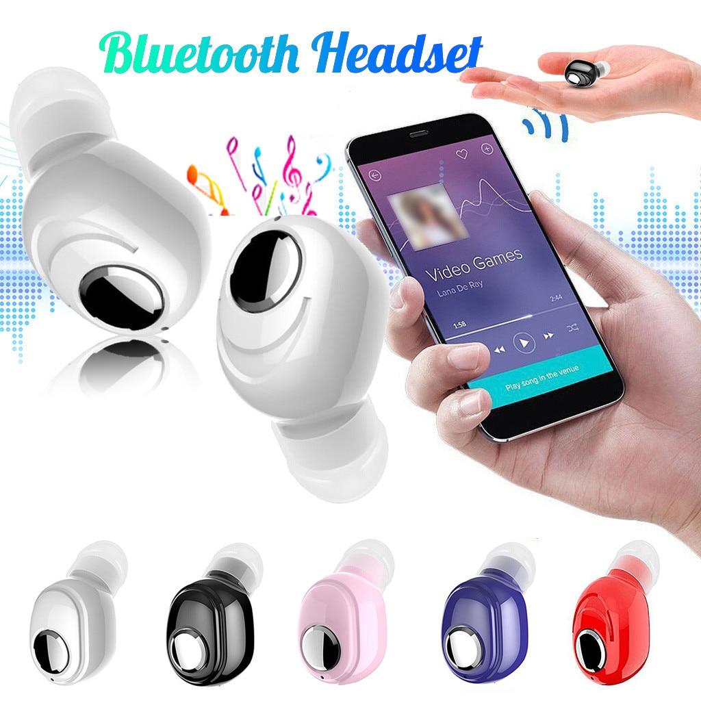 4 colores Balanced armadura Mini auriculares inalámbricos Bluetooth 5,0 miniatura de alto rendimiento auriculares deportivos