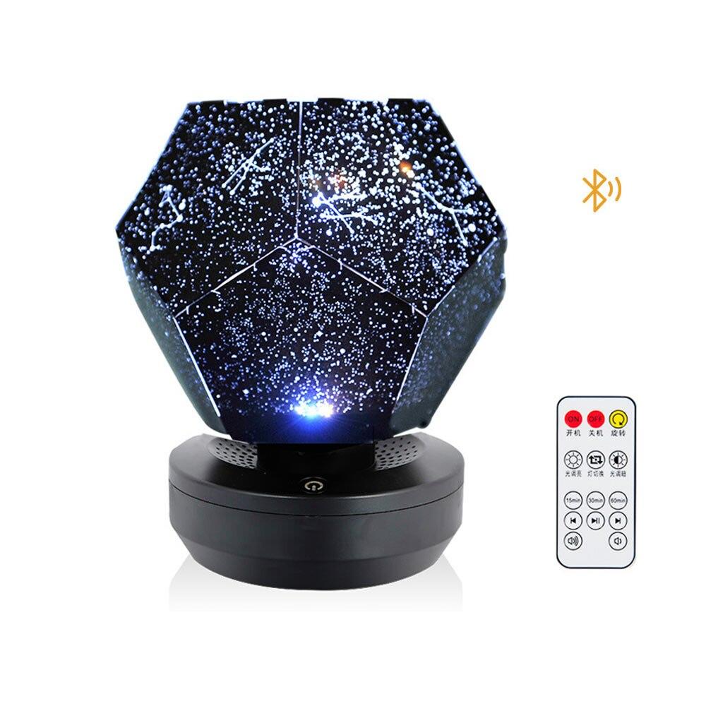 Navidad 60000 estrellas cielo estrellado proyector luz DIY montaje hogar planetario lámpara dormitorio ALI88