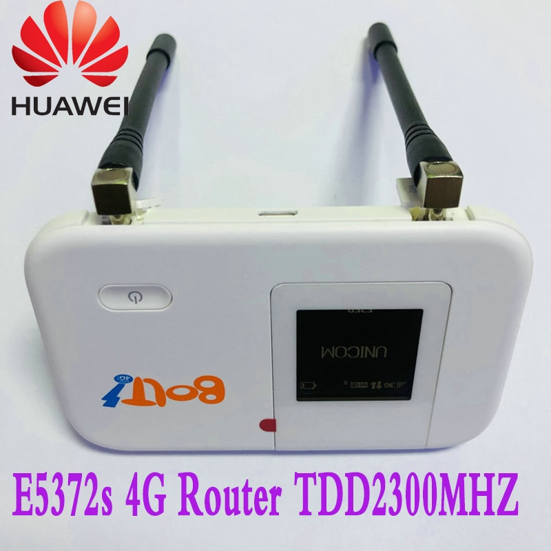 huawei e5372s wifi roteador 4g tdd2300mhz hotspot movel parafuso do roteador desbloqueado