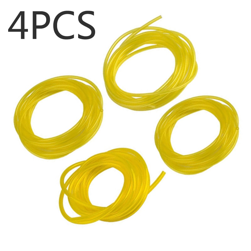 Universal 4 Sizes Petrol Fuel Pipe Line Hose Tube For Chainsaw String Trimmer Power Equipment String Trimmer Parts & Accessories