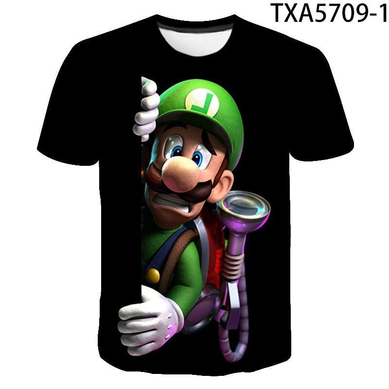 Camiseta con estampado en 3D para hombre y mujer, camisa de manga...