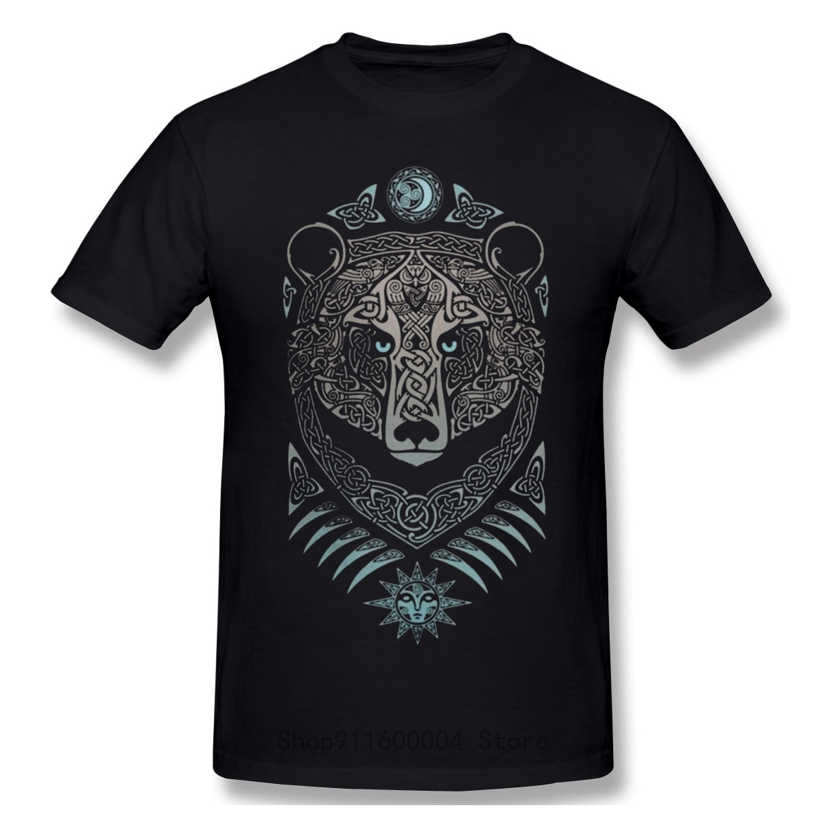 Forest Lord Viking Valhalla Son Of Odin T-Shirt Men