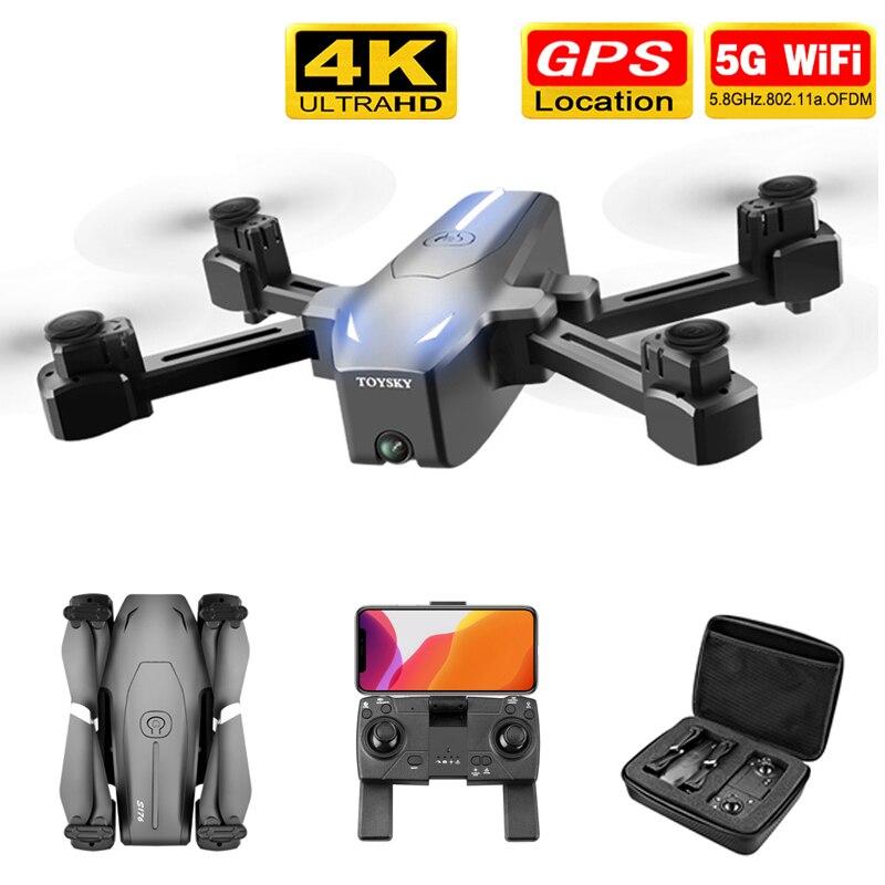 Dron profesional con cámara HD 4K y GPS, cuadricóptero plegable con WIFI,...