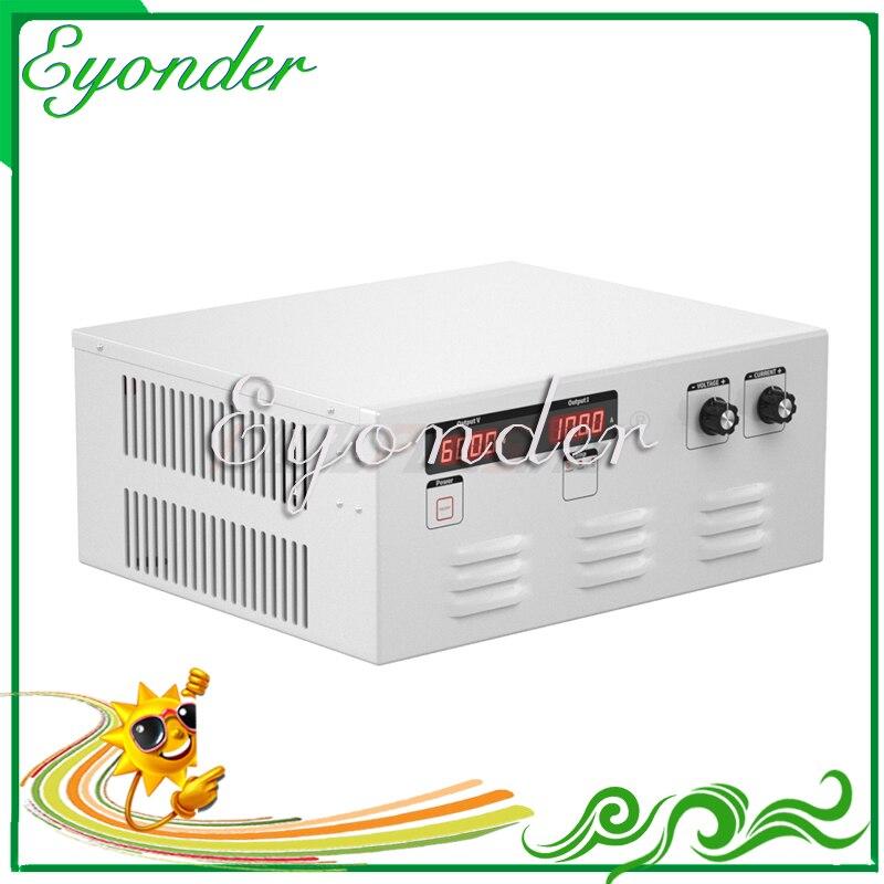 Eyonder venta al por mayor de fábrica 380v 500v ac 110v 220v a dc fuente de alimentación 96v 50a 60a 70a 4800w 5760w 6720w convertidor ajustable