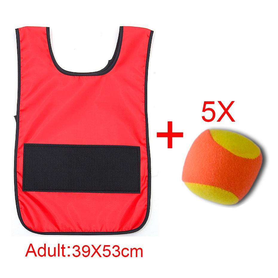 2021Chaleco de bola pegajosa para nios... accesorio de juego de deportes al...