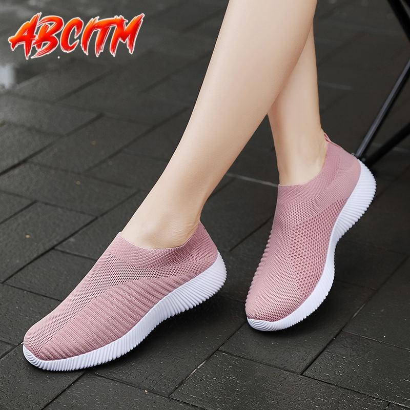 Zapatillas de deporte de talla grande para mujer, zapatos informales ligeros de...