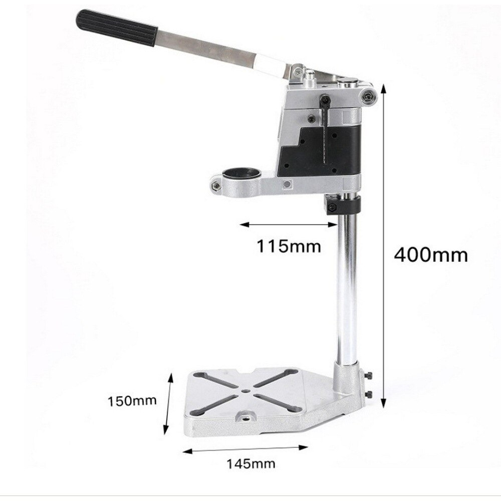 Electric Drill Stand Support Electric Drill Stand Desktop Electric Drill Clamp Base Press Rotating Fixed Frame Workbench Clamp enlarge