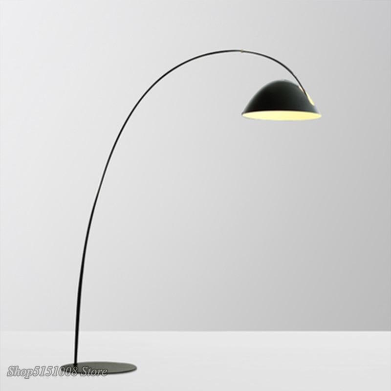 Caña de pescar nórdica, lámpara de pie, arte moderno, sala de estar, dormitorio, Luz de suelo, decoración del hogar, lámpara de pie LED, luminaria