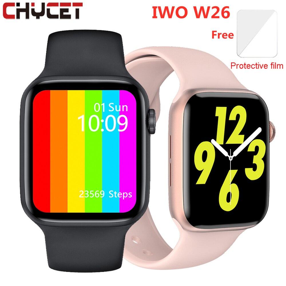 Original IWO W26 Smart Watch Men Women Bluetooth Call ECG Heart Rate Monitor Fitness Tracker Watches