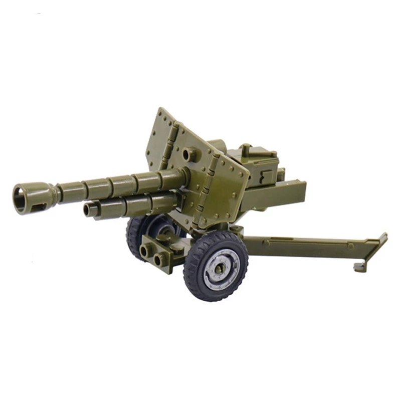 war accessories military cannon scenes guns weapons swat sandbag for land force moc building blocks toys for kid gifts legoingly Military Weapon Building Blocks Heavy Guns Pack City Bazooka Mortar Cannon Series WW2 Army Accessories SWAT MOC Brick Gift Toys