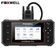 Автомобильный сканер Foxwell NT624 Elite OBD2, профессиональный полноразмерный считыватель кодов системы EPB Oil Reset ODB OBD 2, автомобильный диагностический инструмент