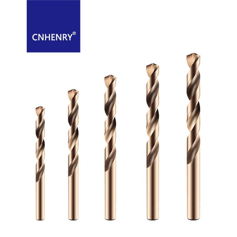 free shipping 13 pcs hss m2 split drill bits set metal drilling hco m35 cobalt drill bit metric 1 6 5m m hss jobber drill din338 0.5MM-16MM M35 Cobalt Twist Drill Set HSS Straight Shank Drill Bit For Stainless Steel Metal Drilling Bits Reamer Tools