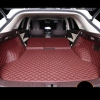 for leather car trunk mat cargp liner for lexus rx200t rx350 rx450h rx300 2015 2016 2017 2018 2019 2020 al20 f sport