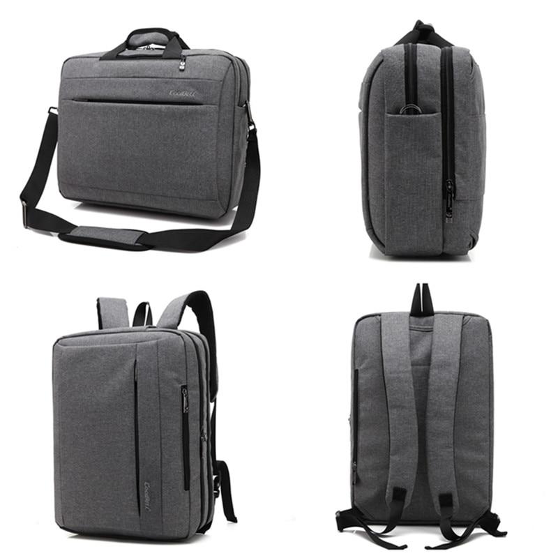 COOLBELL-حقيبة ظهر للكمبيوتر المحمول مقاس 15.6 / 17.3 بوصة ، وحقيبة كتف عصرية ، وحقيبة سفر للأعمال ، وحقيبة ظهر مضادة للسرقة للرجال