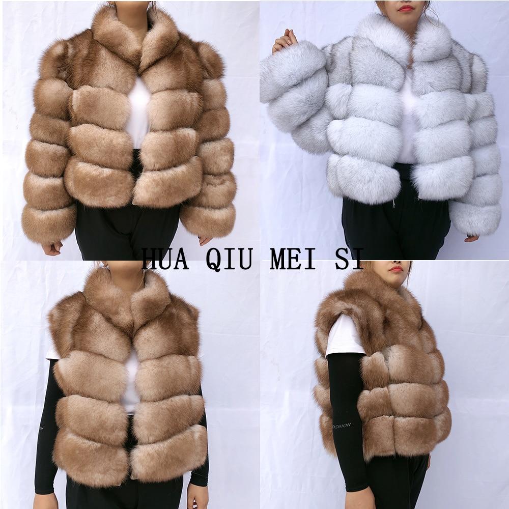 winter coat women 100% natural fox fur coat zipper turns into fox fur vest fur coat natural fur coats real fur jacket fur vest фото