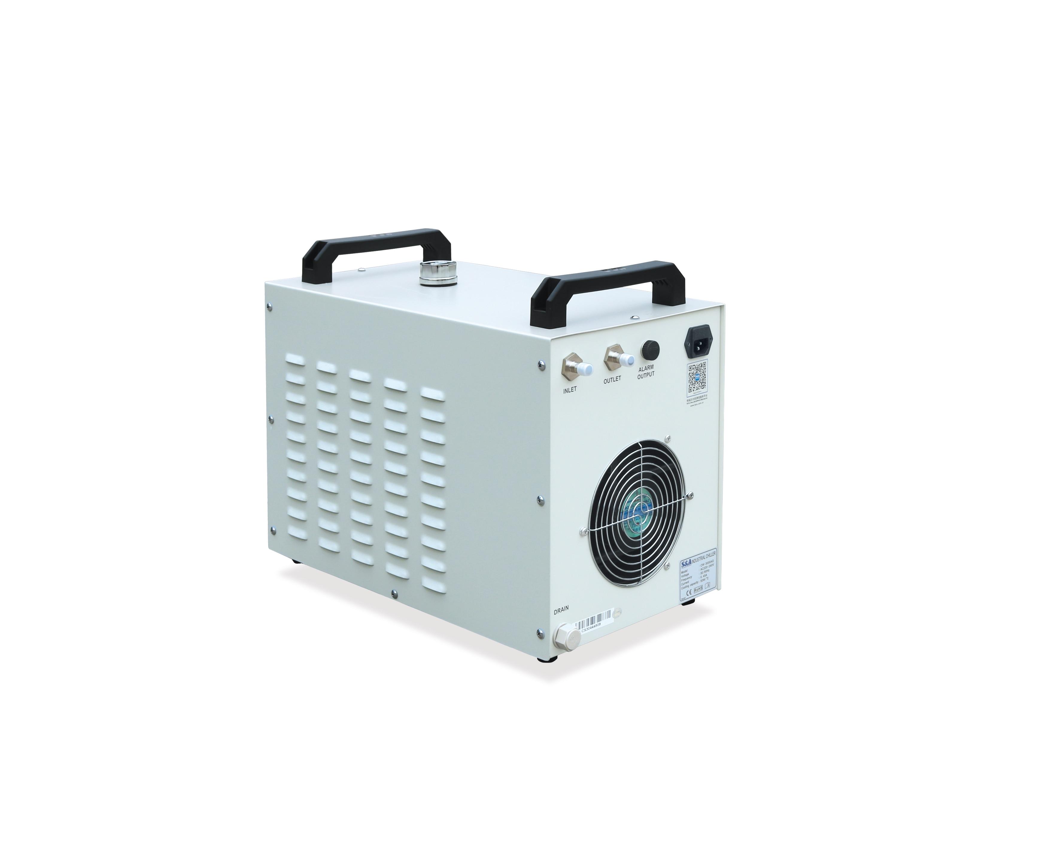 CW3000 لنظام تبريد آلة حفارة الليزر سطح المكتب لعام 4060