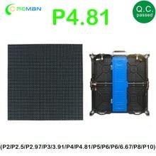 P4.81 Outdoor 52x52dot matrix led module 250x250mm size, 500x1000 rental cabinet screen led module SMD1921 SMD2727 LED Panel
