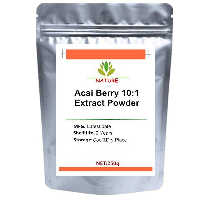 Pure Acai Berry 10:1-polvo antioxidante, desintoxicación Natural, pérdida de peso