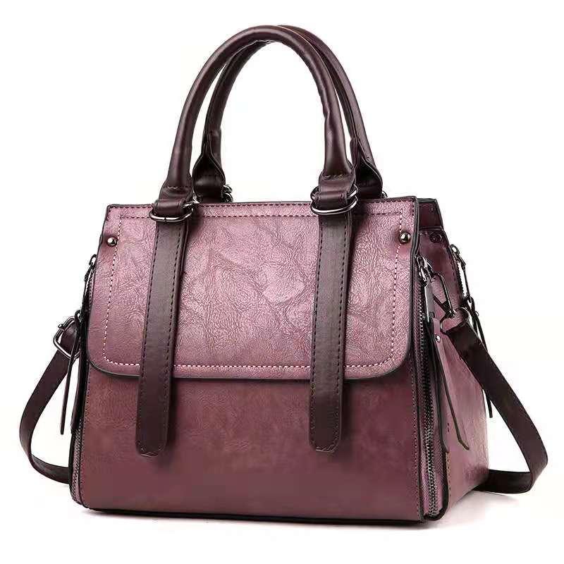 2021 جديد الموضة العصرية حقيبة كتف النسخة الكورية من حقيبة يد قطري بسيطة ومتعددة الاستخدامات شخصية حقيبة الإناث