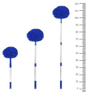 Image 5 - Щетка для мытья автомобиля FORAUTO, телескопическая щетка с длинной ручкой для мытья автомобиля, чистящие инструменты, шенилловая щетка, автомобильные аксессуары, чистящая Швабра