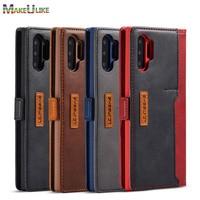 Чехол-книжка для Samsung Galaxy Note 10 Plus 9 20 Ultra S21 S8 S9 S10 S20 Plus S10e S20