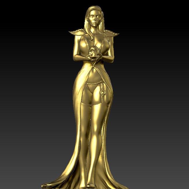 Escultura 3D tallada, modelo 3d para máquina cnc en formato de archivo STL, sexy para mujer