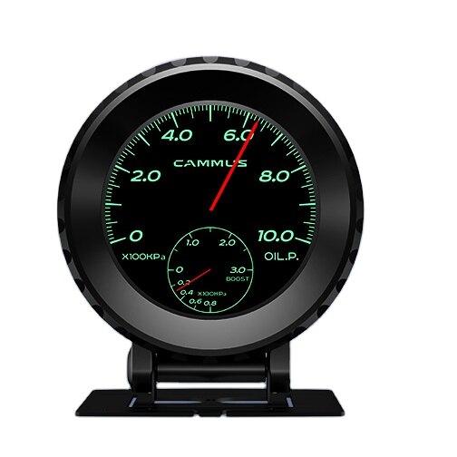 ضغط النفط الكثافة المتعدد التلقائي Rpm الجهد الصغير جهاز قياس الاستشعار التبديل مقياس ضغط مملوء بالزيت لفورد فليكس