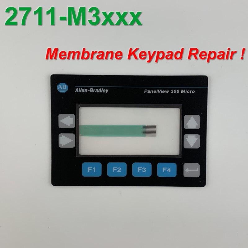 فيلم لوحة المفاتيح الغشائية ألين برادلي Panelview 300 ، Micro 2711-M3A18L1 ، لإصلاح لوحة HMI ~ افعل ذلك بنفسك ، جديد وكان في المخزون