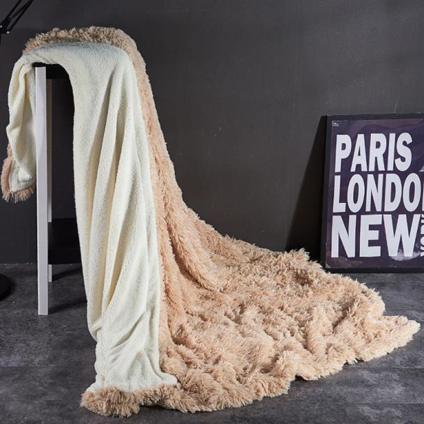 40 одеяло меховое покрывало флисовое мягкое теплое для кровати односпальное