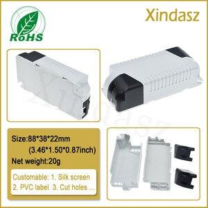 10pcs/Lot abs plastic project box case plastic enclosure diy box enclosure 88*38*23mm