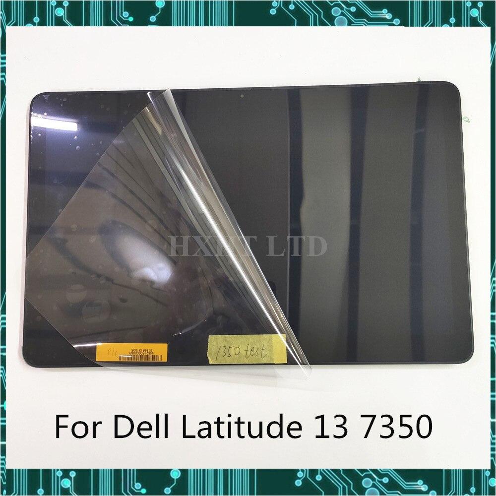 Original para Dell latitud 13 7350 pantalla LCD de montaje de pantalla táctil FHD 1920*1080 probado