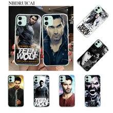 NBDRUICAI TV Teen Wolf derek hale personalizado foto funda de teléfono suave para iPhone 11 pro XS MAX 8 7 6 6S Plus X 5S SE XR cubierta