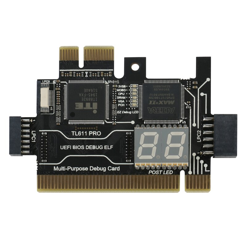 TL460s Plus TL611 PRO portátil y PC de escritorio, prueba de diagnóstico Universal, soporte de tarjeta King Post para PCI PCI-E minipci-e LPC