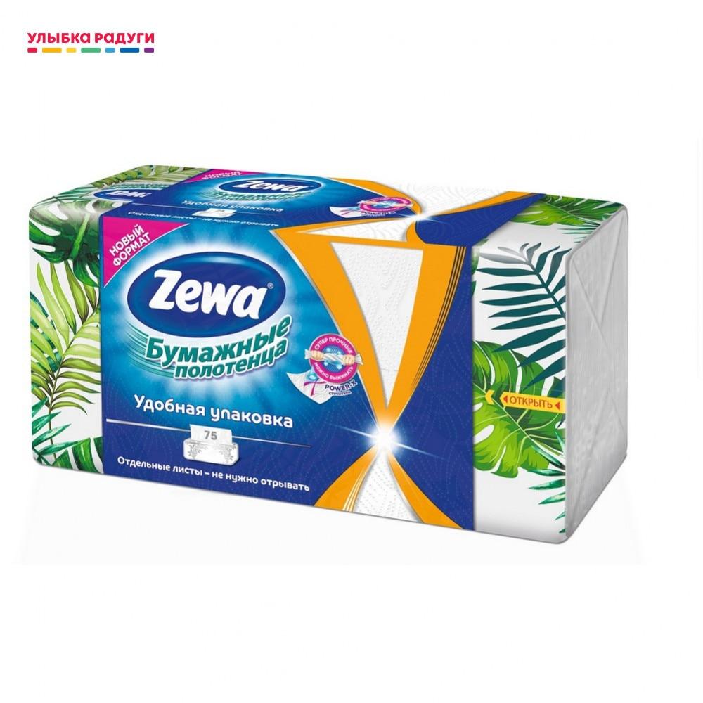 Toalhas de papel Zewa 3119229 Бумажные полотенца Zewa Wisch Weg 75 листов