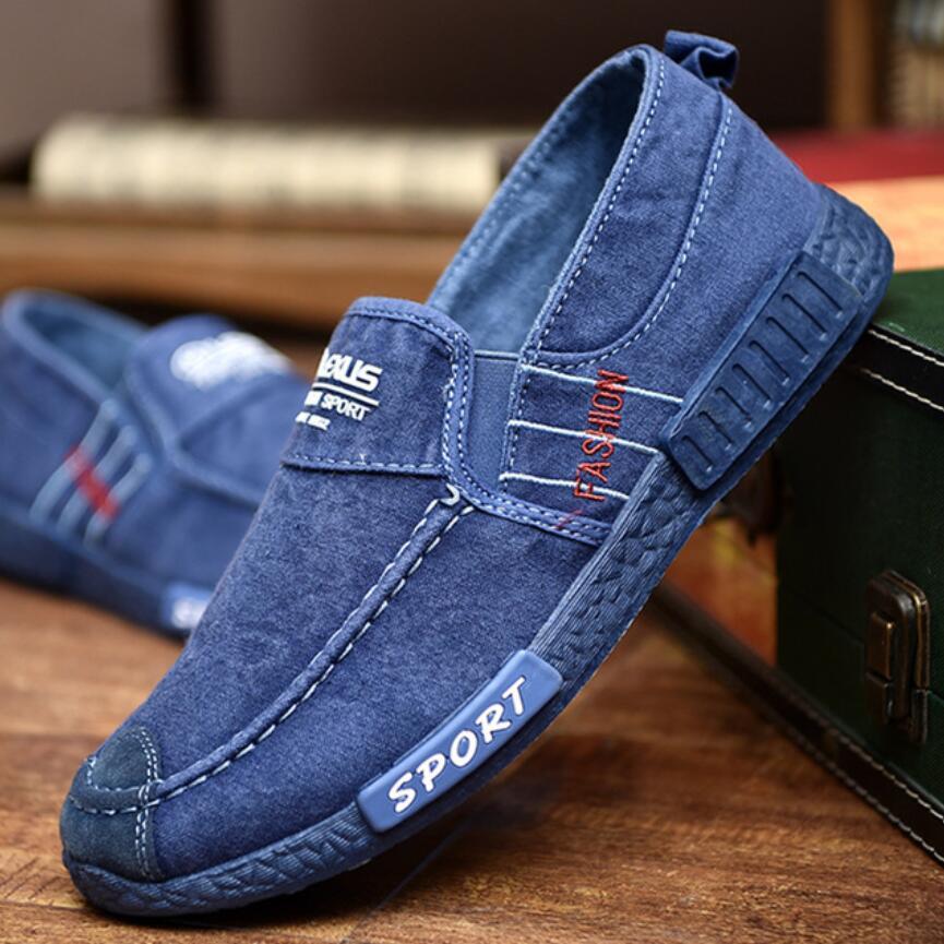 Otoño lujo moda Inglaterra alpargatas casuales para Hombre Zapatillas planas Calzado Hombre...
