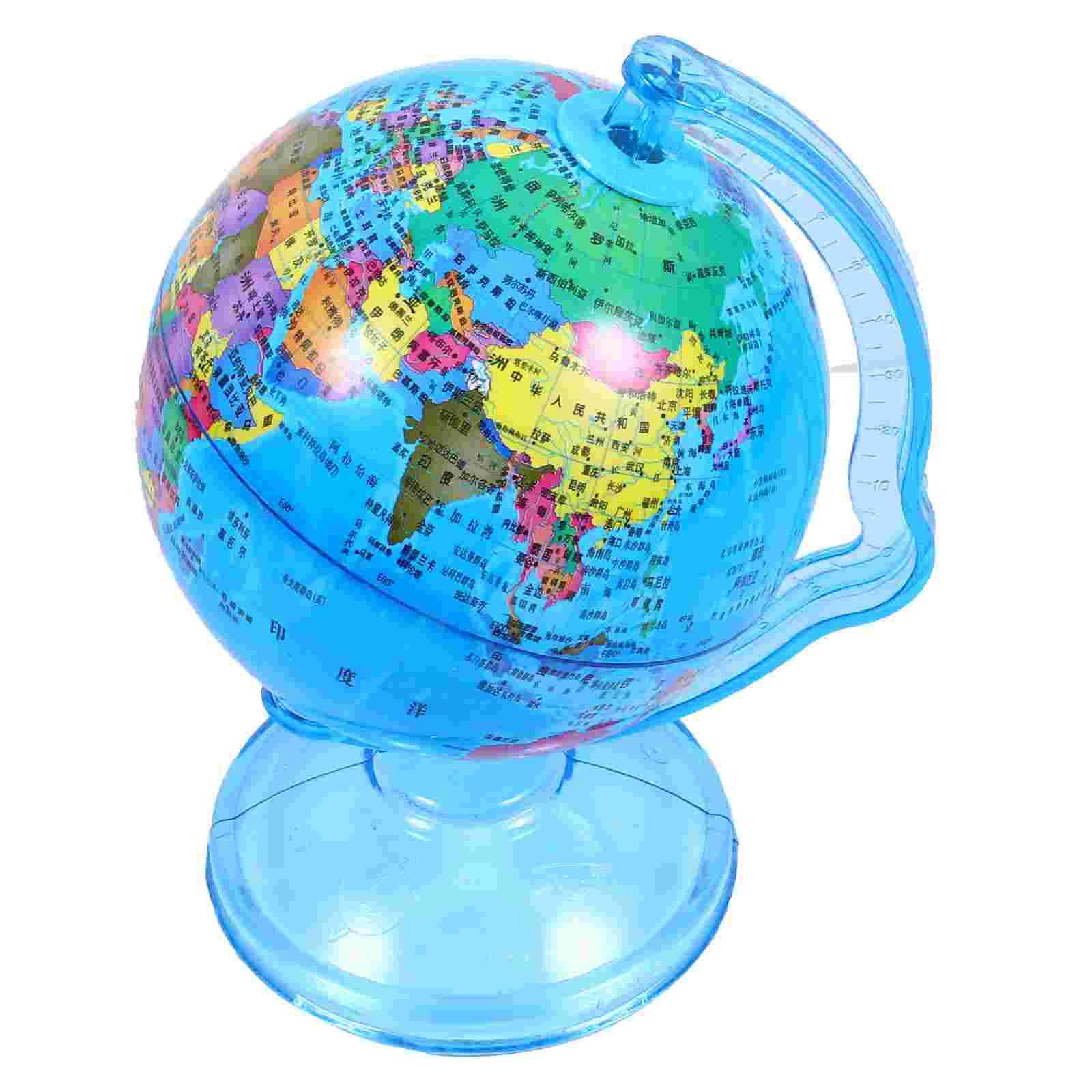 1Pc Coin Savings Pot Creative Coin Money Bank Globe Coin Storage Jar