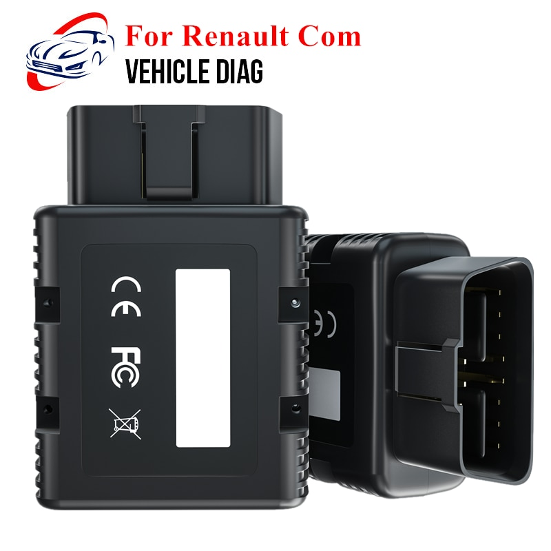 OBD2 Diagnostic Tool For Renault Com/PSA Com Bluetooth OBD2 Scanner Automotivo Replacement of Renault CAN Clip/lexia3 PP2000