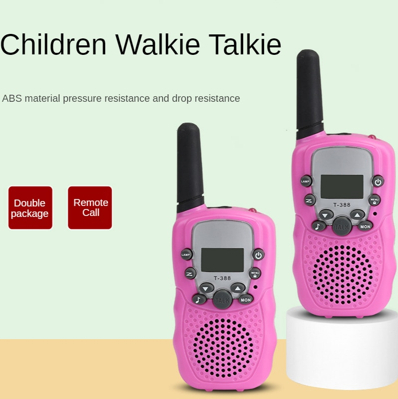 Toys for Birthdays Kids Walkie Talkies Long-range Walkie-talkie and Scanner Dropshipping 2021 Best Selling Products