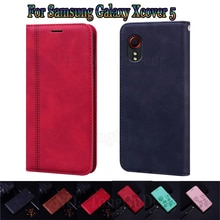 Cover For Samsung Xcover 5 Case Flip Leather Funda Book For Samsung Galaxy Xcover5 Case Wallet Phone