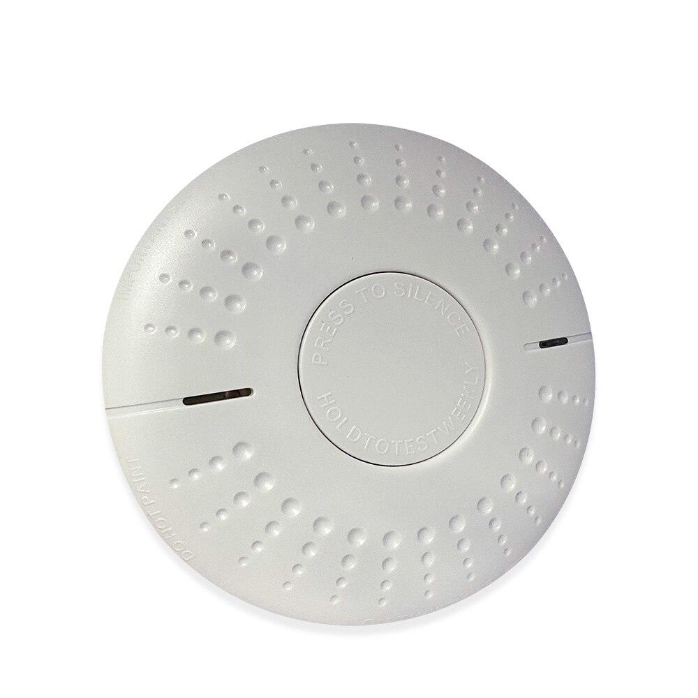 Detector de humo independiente sellado de 10 años a precio de fábrica para sistema de alarma contra incendios