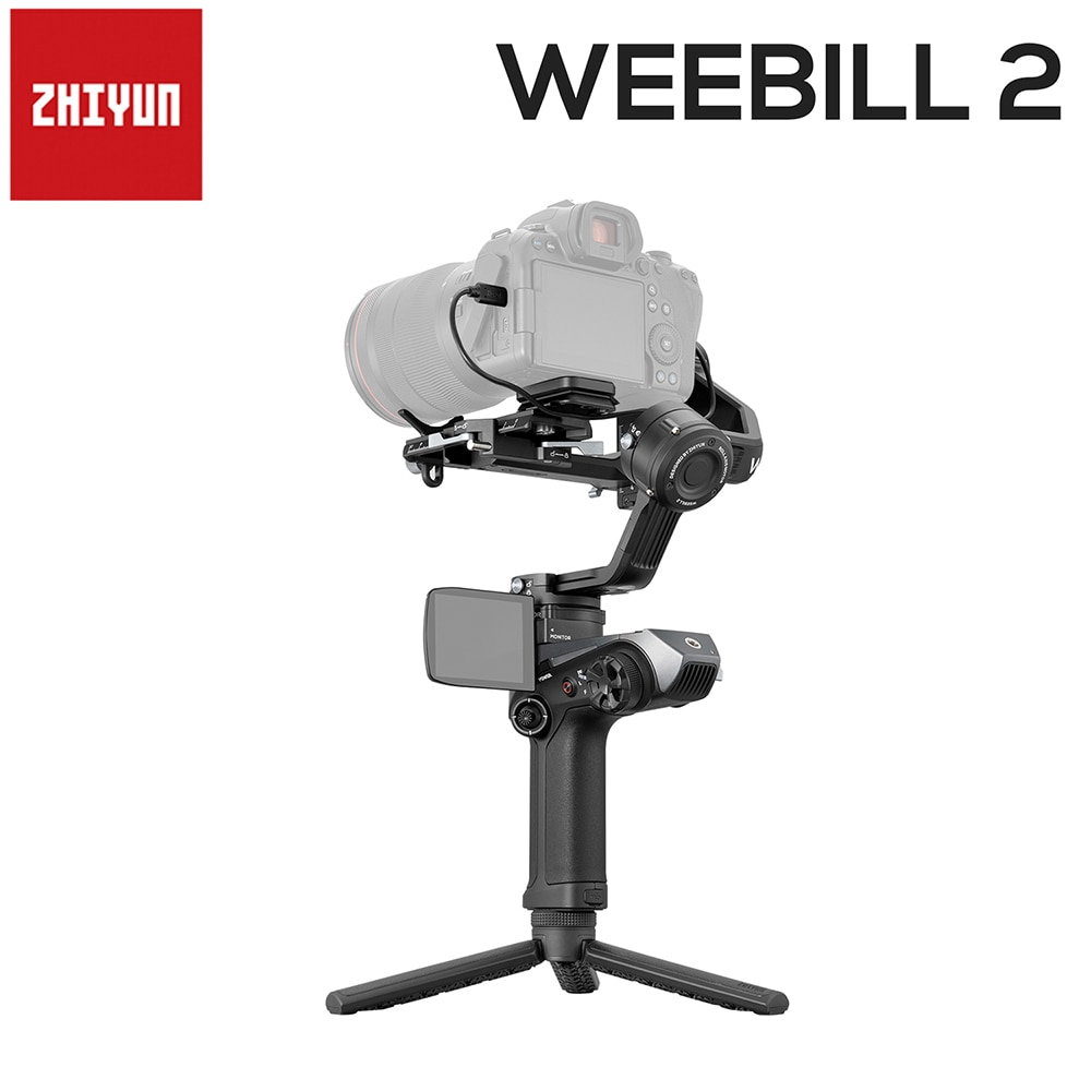 Zhiyun Weebill 2 3-المحور يده Gimbal استقرار مع شاشة ل DSLR سوني كانون كاميرا المرايا كاميرات VS DJI