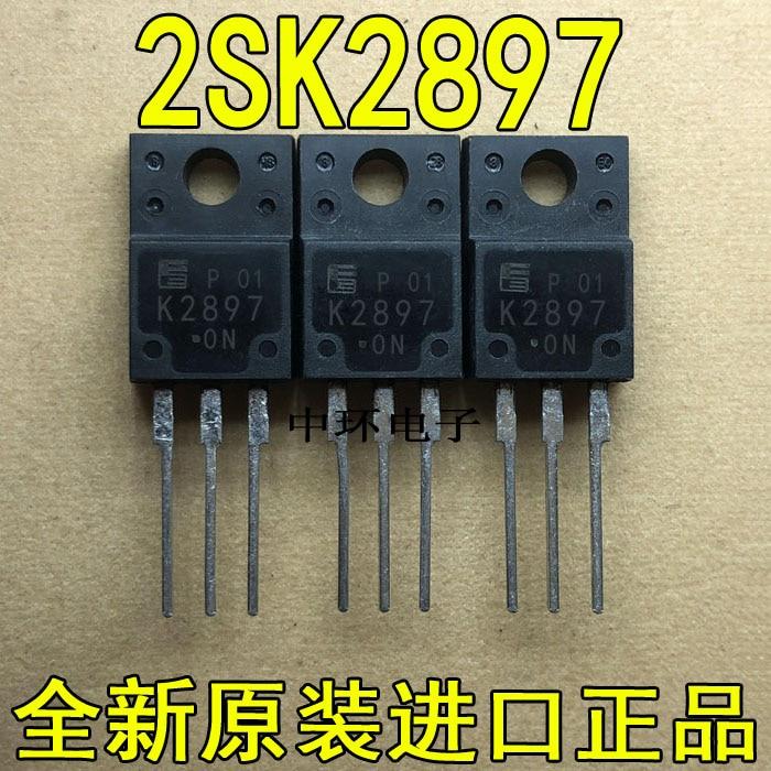 10 pçs/lote K2897 2SK2897-01MR TO-220F FET 45A 60V