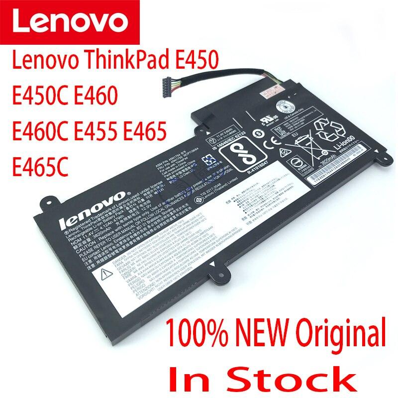 لينوفو الأصلي E450 E450C E455 E460 E460C 45N1756 45N1757 بطارية كمبيوتر محمول 47WH 45N1754 45N1755 جديد