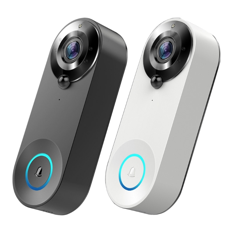 Wireless WiFi Video Doorbell Camera Home Security Doorbell Camera Battery Powered with Real Time View of Door Dynamics enlarge