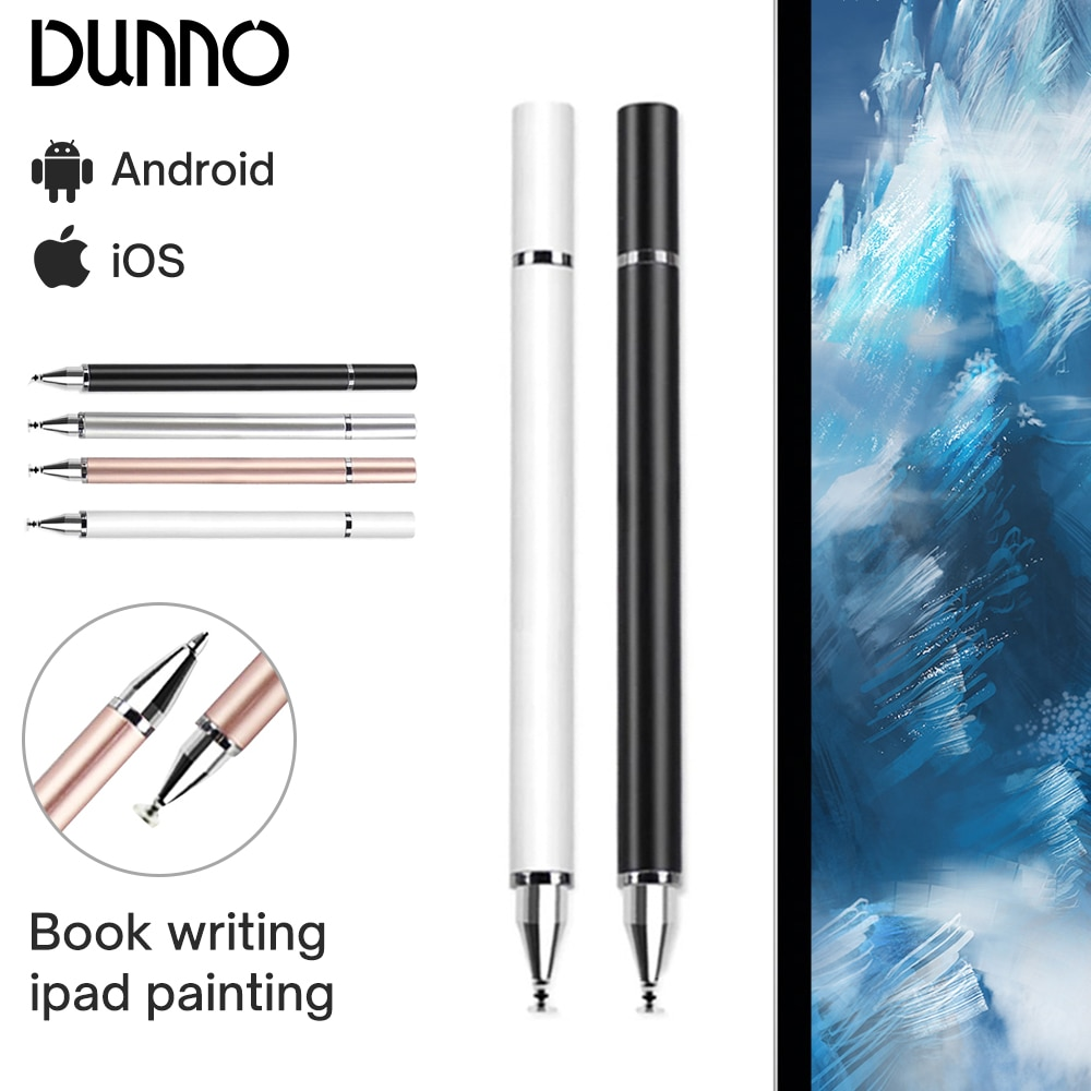Universal 2 in 1 Stylus Pen Drawing Tablet Capacitive Screen Caneta Touch Pen for iOS Android iPad S