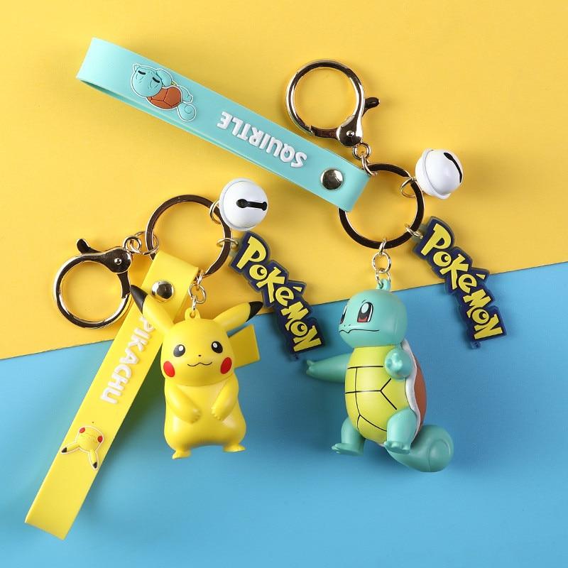 LLavero de Pokémon cosplay de pikachu Charmander de múltiples funciones de alta calidad, accesorio de ropa