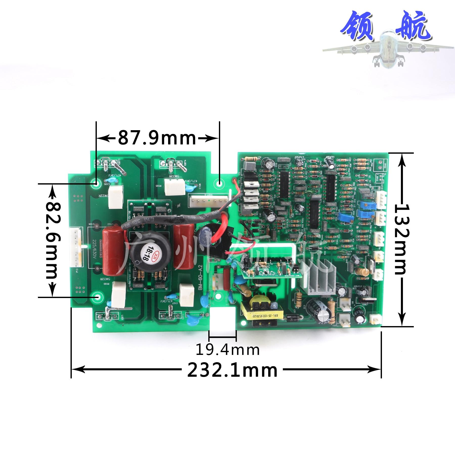 الكهربائية آلة لحام لوحة الدوائر الجهد المزدوج العاكس لحام آلة العلوي مجلس ZX7-315/400S العاكس مجلس