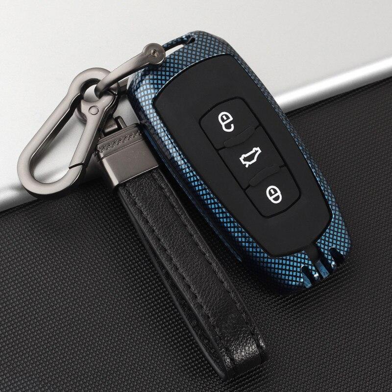 Carcasa de aleación de Zinc + gel de sílice para coche Geely Coolray 2019-2020 Atlas Boyue NL3 EX7 Emgrand X7 EmgrarandX7 SUV GT GC9 borui