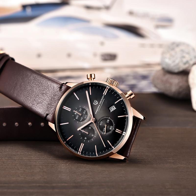 Pagani Set 2021 New Stainless Steel Men's Watch Luxury Business Men Quartz Watch Waterproof Fashion Clock Men's Mechanical Table enlarge