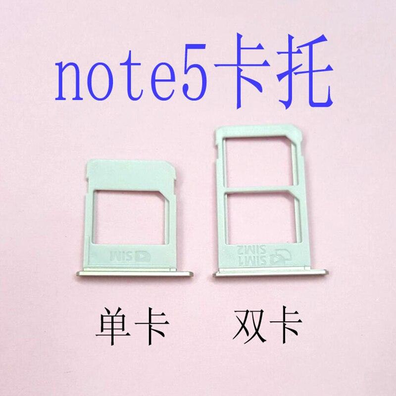 For Samsung Galaxy Note5 N920I N920A Dual&Single SIM Card Tray Holder Slot SD
